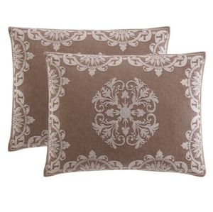 Ellison Opulence Jacquard Pillow Case Sham New
